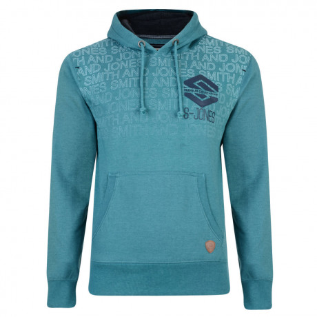 Smith & Jones Hemington Hoodie Biscay Bay Green
