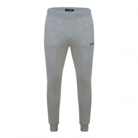 Firetrap Men's Fleece Tracksuit Jogging Joggers Grey Marl Pants | Jean Scene