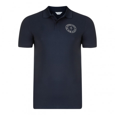 Jack & Jones Core Polo Pique T-Shirt Navy Blazer | Jean Scene