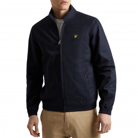 Lyle & Scott Men's Casual Harrington Jacket Navy | Jean Scene