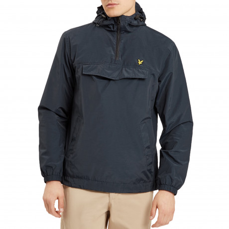 Lyle & Scott Men's Casual Overhead Anorak Jacket Navy | Jean Scene