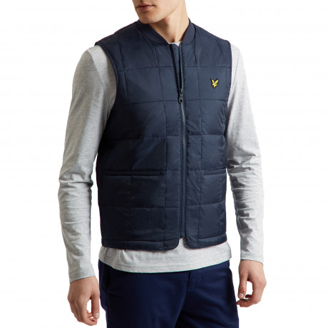 Lyle & Scott Men's Casual Bodywarmer Navy | Jean Scene