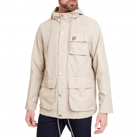 Lyle & Scott Men's Casual Jacket Light Stone | Jean Scene