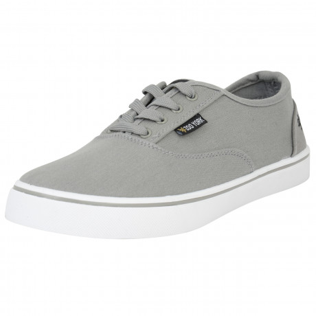 Zoo York Men's Kennedy Low Canvas Shoes Grey | Jean Scene