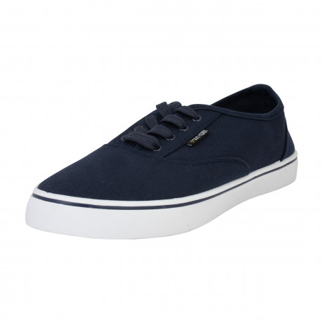 Zoo York Men's Kennedy Low Canvas Shoes Navy | Jean Scene
