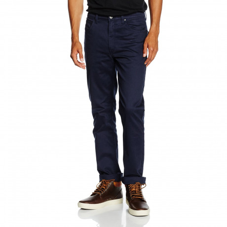 Lee Brooklyn Straight Leg Stretch Chinos French Navy | Jean Scene