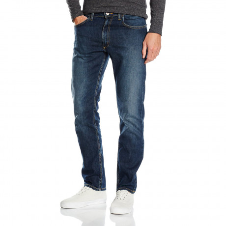Lee Brooklyn Straight Stretch Jeans Wave Signal | Jean Scene