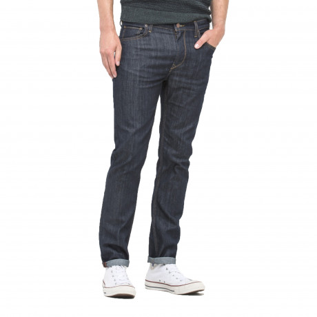 Lee Rider Regular Slim Rinse Blue Denim Jeans | Jean Scene