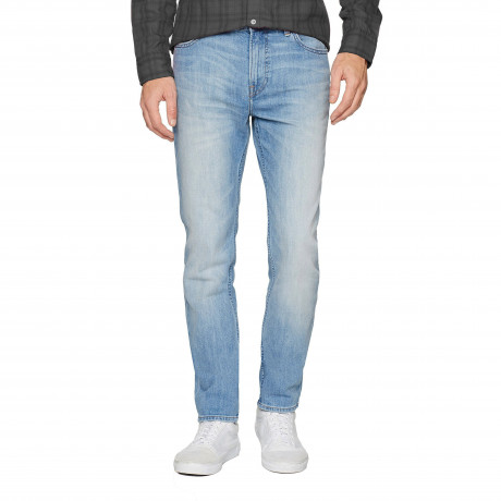 Lee Rider Regular Slim Kick It Blue Denim Jeans | Jean Scene