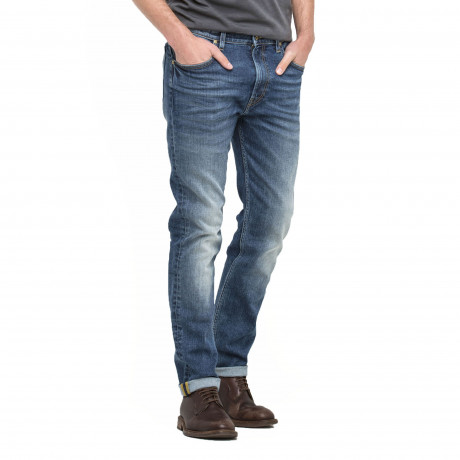 Lee Rider Regular Slim Blue Surrender Blue Denim Jeans | Jean Scene