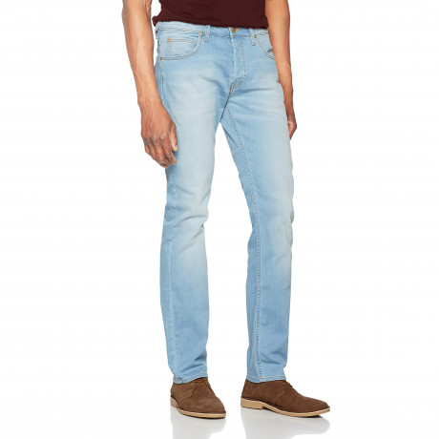 Lee Powell Slim Tapered Sun Breeze Denim Jeans | Jean Scene