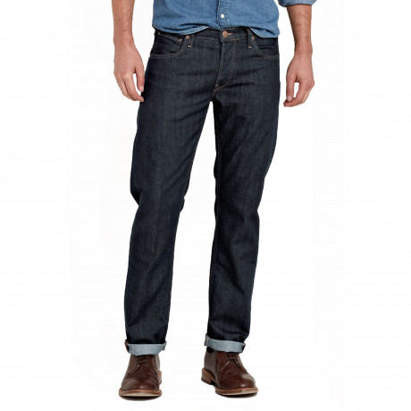 Lee Daren Regular Slim Rinse Blue Denim Jeans | Jean Scene