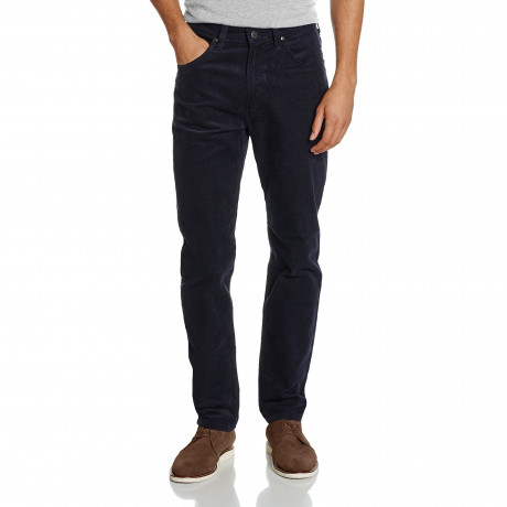 Lee Daren Zip Regular Slim Blue Well Corduroy Jeans | Jean Scene