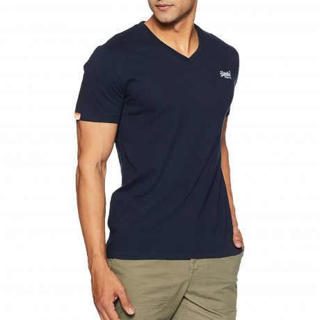 Superdry Orange Label Men's T-Shirt Eclipse Navy | Jean Scene