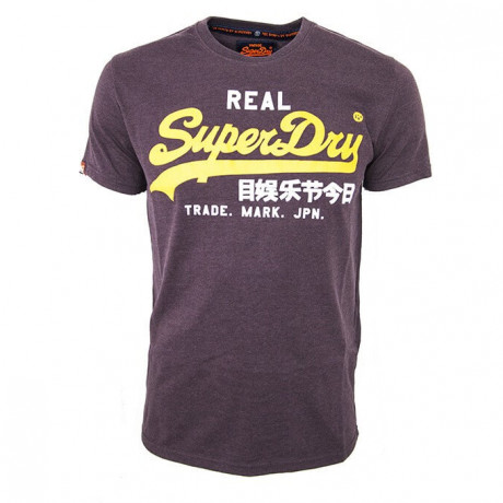 Superdry Crew Neck Vintage Logo Entry T-shirt Port Marl