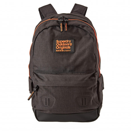 Superdry Fresh International Montana Backpack Bag Black | Jean Scene