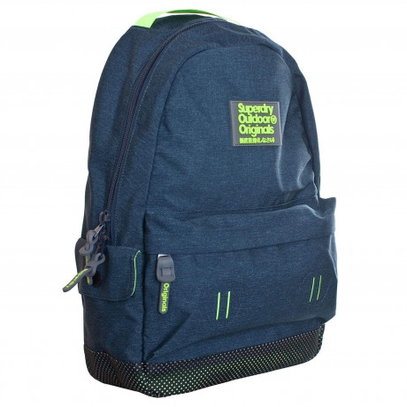 Superdry Webster Montana Backpack Bag Blue Marl | Jean Scene