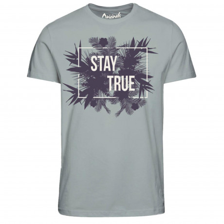 Jack & Jones Originals Crew Neck Hit Print T-shirt Mirage Gray | Jean Scene