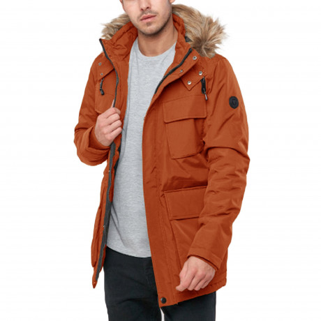 Cynical Men's Casual Jacket Burnt Orange | Jean Scene