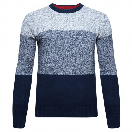 Lee Cooper Crew Neck Navenby Knitted Jumper Dark Denim