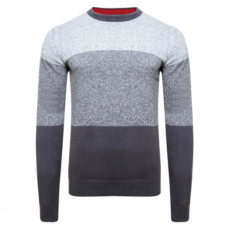 Lee Cooper Crew Neck Navenby Knitted Jumper Dove