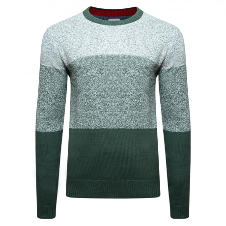 Lee Cooper Crew Neck Navenby Knitted Jumper Ecru