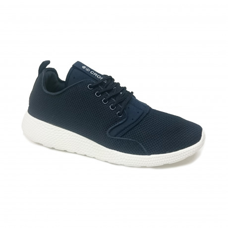 Crosshatch Mens Blistering Canvas Shoes Trainers Navy | Jean Scene