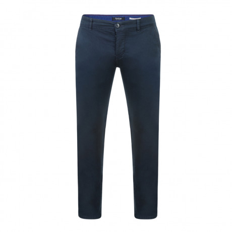 Firetrap Newaygo Slim Fit Cotton Chinos Navy | Jean Scene