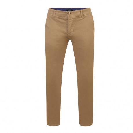 Firetrap Newaygo Slim Fit Cotton Chinos Tobacco | Jean Scene