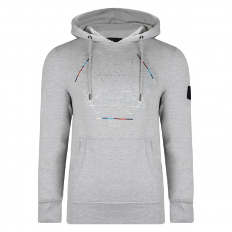 Smith & Jones Men's Obalisk Hoodie Light Grey | Jean Scene