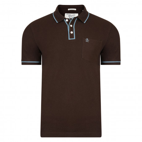 Original Penguin Polo Shirt Coffee Bean | Jean Scene