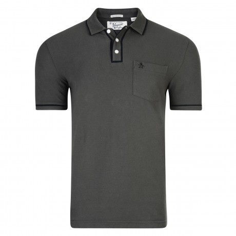Original Penguin Polo Shirt Dark Shadow | Jean Scene