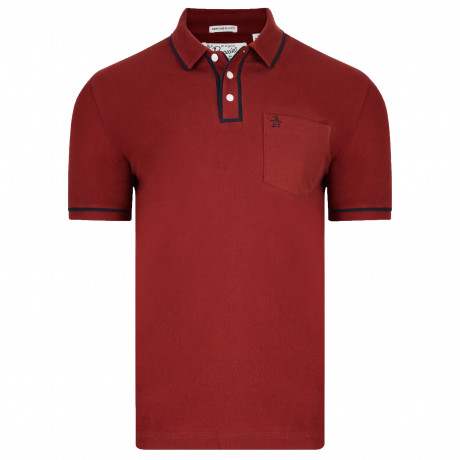 Original Penguin Polo Shirt Chilli Red | Jean Scene