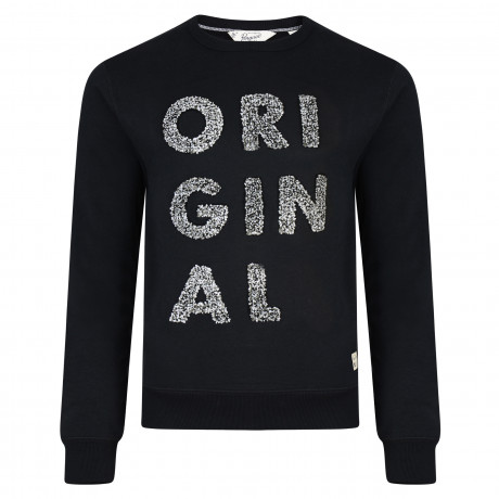 Original Penguin Men's Casual Sweatshirt Black | Jean Scene