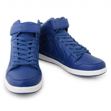 Crosshatch Otway High Top Trainers Surf Blue