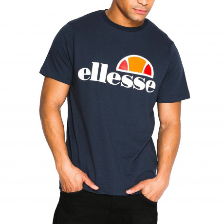 Ellesse Logo T-Shirt Short Sleeve Dress Blues | Jean Scene