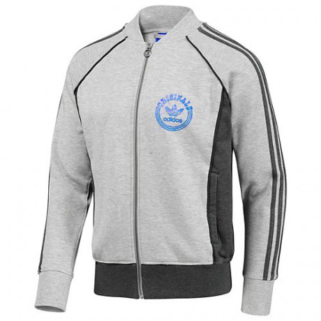 adidas Originals Varisty Track Top Grey Image