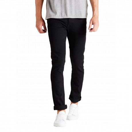 Jack & Jones Tim Original Slim Fit Denim Jeans Black | Jean Scene