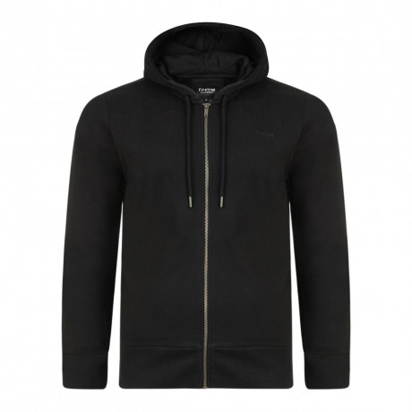 Firetrap Men's Rawding Zip Up Hoodie Black | Jean Scene