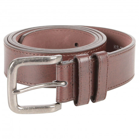 Duke Kingsize Bonded Basic Leather Belt Brown | Jean Scene