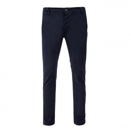 Threadbare Saloon Slim Fit Cotton Chinos Navy | Jean Scene