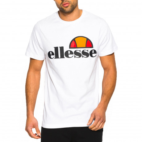Ellesse Logo T-Shirt Short Sleeve Optic White | Jean Scene