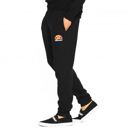 Ellesse Men's Ovest Logo Jogging Bottoms Anthracite | Jean Scene