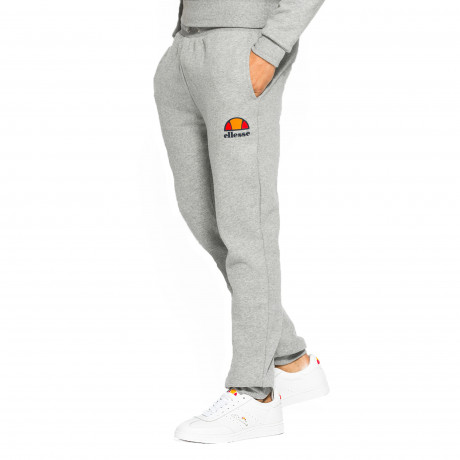 Ellesse Men's Ovest Logo Jogging Bottoms Athletic Grey Marl | Jean Scene