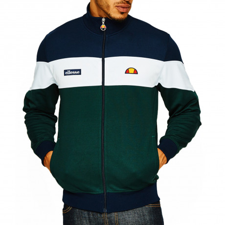Ellesse Men's Caprini Authentic Retro Track Jacket Dress Blues | Jean Scene