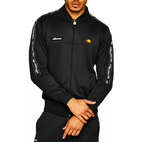 Ellesse Men's Squad Authentic Retro Track Jacket Anthracite | Jean Scene