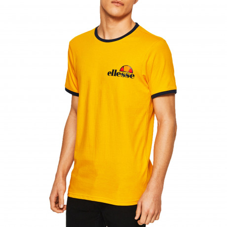 Ellesse Logo T-Shirt Short Sleeve Cadium Yellow | Jean Scene