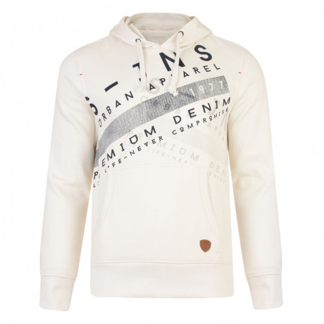 Smith & Jones Silverton Hoodie Vaporous Grey