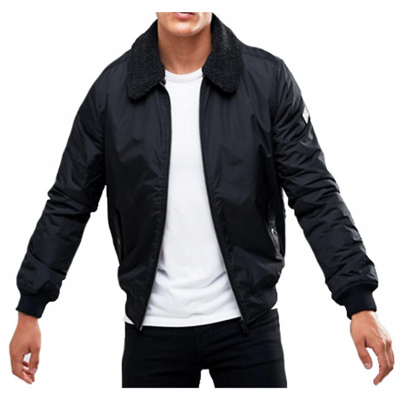 Threadbare Men's Casual Jacket Black | Jean Scene