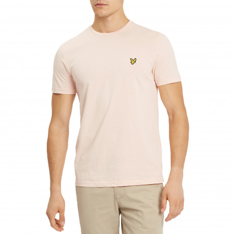 Lyle & Scott Crew Neck Short Sleeve T-Shirt Dusty Pink | Jean Scene